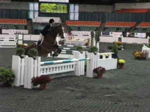 Crackers and I waaay back at New England Equitation Championships.